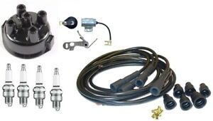 John Deere 2510 2520 Delco Distributor Ignition Tune Up Kit W Usa Copper Wires