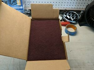 Scuff Pads Very Fine Maroon Hand Sanding Pads 20 Box 6 X 9 Private Label 64659