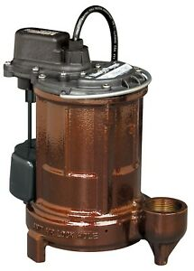 Liberty Pumps 257 1 3 Hp Cast Iron Sump effluent Pump