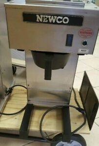 Newco Nk Series Pour Over Coffee Brewer Commercial Grade Model Nkpp
