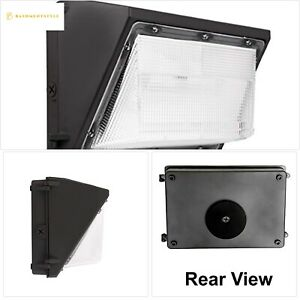 Led Wall Pack Photo Cell 60w 5000k Commercial Outdoor Light Fixture Dimmable