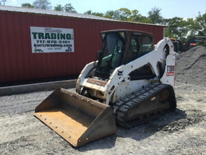 2008 Bobcat T190 Compact Track Skid Steer Loader W Cab Only 2200hrs