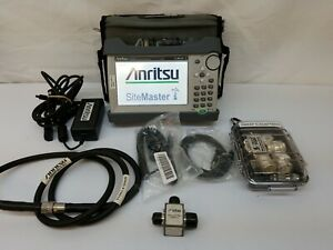 Mint 2019 Anritsu S331l Sitemaster Cable And Antenna Analyzer 4ghz Ver 2 Master