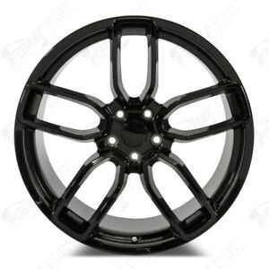 Fits Dodge Charger Challenger 20 Wide Body Style Wheels Gloss Black Lightweight