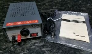 New Radioshack Regulated Power Supply 22 504 120vac 60 Hz 100 W Output 13 8v 3a