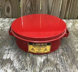 Justrite 10295 1 2 Gal Bench Safety Can Unused