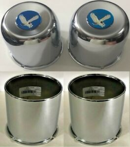 4 Wheel Center Caps 4 25 4wd For Ford Chevy Dodge Truck 6 Lug 5x5 5 Blue Eagle