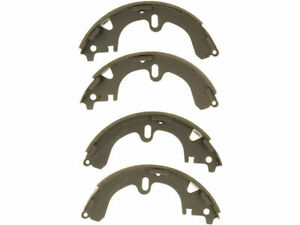 Rear Brake Shoe Set For 1990 1992 Toyota Corolla Wagon 1991 P491xc
