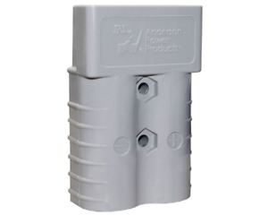 Anderson Power Products Sb350 Forklift Battery Connector Plug Gray Sb 350 906 bk