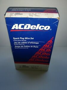 Acdelco Spark Plug Wire Set 748kk 88984269 New Old Stock