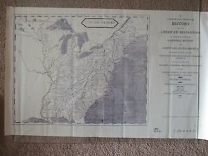 Antique Reproduction Map Of The United States 1811 See All My Civil War Maps