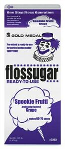 Pack Of 6 part 3203 by Gold Medal Products Co 3 1 4 Lb Spookie Fruity Grape Fl