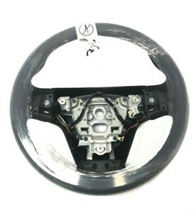 New Oem 2014 Cadillac Cts Ats Black Suede Steering Wheel Base 23184766