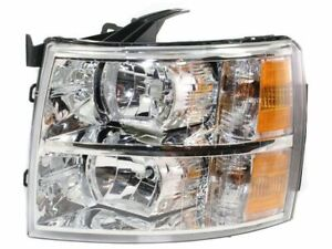 Left Headlight Assembly For 2007 2013 Chevy Silverado 1500 2010 2008 2009 W862bh