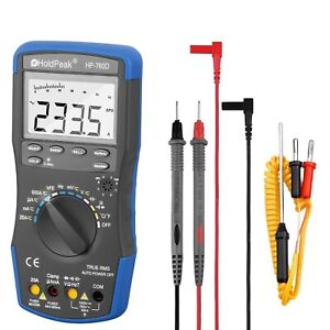 Digital Multimeter Meter Ac dc Volt Auto Engine Analyzer Handhold Lcd Display