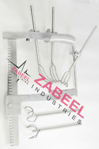 Cooley Cosgrove Mitral Value Retractor Surgical Complete Set Zabeel Industries