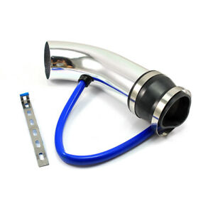 3 Car Cold Air Intake Induction Pipe Filter Tube System Universal Hose Silver