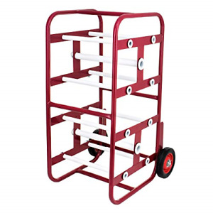 Transportable Multiple Axle Cable Caddy Multi spool Wire Rack Dispenser Easy