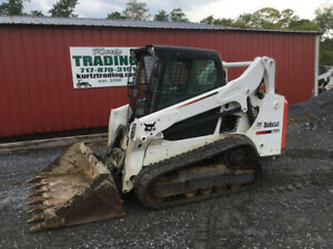2016 Bobcat T590 Compact Track Skid Steer Loader W Cab Only 900hrs