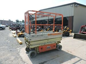 2008 Jlg 1930es Scissor Lift Watch Video Good Condition Only 351 Hours