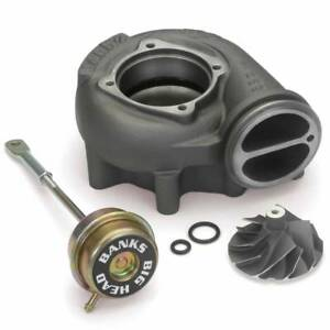 Banks 24458 Quick Turbo Compressor Wheel Kit W Actuator For 99 03 Power Stroke