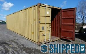 We Deliver Used 40ft High Cube Secure Home Storage Shipping Container In Texas