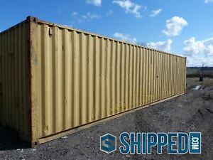 Home Storage Used 40ft High Cube Shipping Container In Cincinnati Ohio Secure