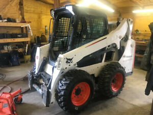 2016 Bobcat S570 Skid Steer Loader W Cab New Tires Only 1600 Hours Coming Soon
