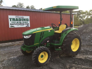 2017 John Deere 4052m 4x4 Hydro Compact Tractor Only 300 Hours Coming Soon