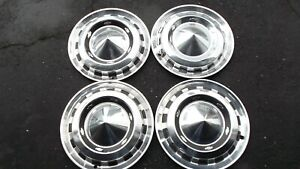 1956 Chevy Bel Air Hub Caps Wheel Covers Set Of 4