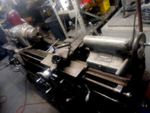 Pratt And Whitney Model b Lathe Great Running Condition 3 4 Jaw Steady Rest