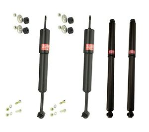 Front And Rear Kyb Excel G Shock Absorbers Kit For Ford Ranger 4wd Xl Xlt Edge