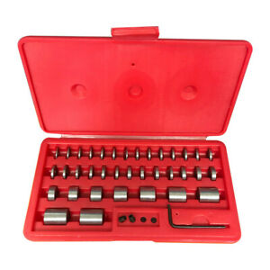 36 Pc Round Space Block Set Steel Hardened Gage Blocks Gauges Set