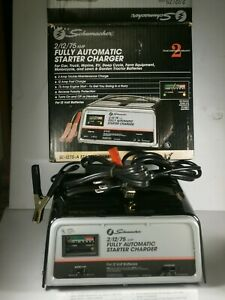 Schumacher Se 1275a Automatic 2 12 75 amp Engine Start Battery Charger new