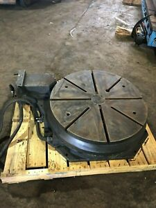30 Diameter Motorized Rotary Table For A Cnc_motor Removed