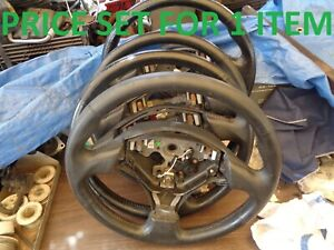 Toyota Corolla 2001 2002 S Model Steering Wheel Black With Cruise Control