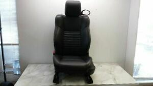 10 Challenger Driver Left Front Power Seat Black Leather
