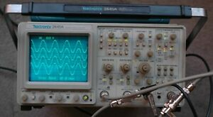 Tektronix 2445a 150 Mhz Oscilloscope B014870 Calibrated Works Great