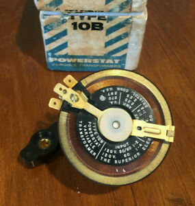 New Superior Electric Powerstat Type 10b Variable Transformer Usa