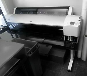 Epson Stylus Pro 9880 Large Format Printer With Extra Ink And Media