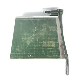 Premier Photo Materials Guillotine 16 Paper Trimmer Cutter Heavy Duty Wood