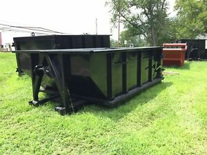 Roll Off Containers 11 Yard 36 Inch Hook And Cable Roll Off Dumpster