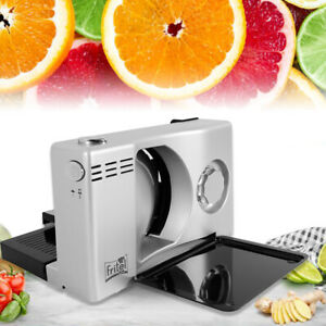Commercial Electric Slicer Food Slicer Meat Cutter Cutting 170mm Blade 100w Best