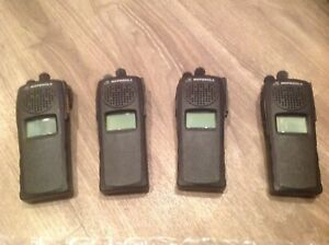 Lot Of 4 Motorola Xts2500 1 5 Radios Uhf 450 512 R2 H46sdd9pw5an P25 Xts