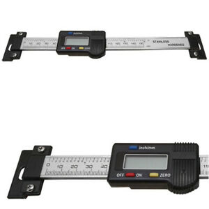 Electronic 6 Digital Read Scale Ruler Caliper Dro Quill Horizontal Bridgeport