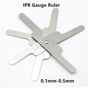 Dental Orthodontic Interproximal Reduction Gauge Reciprocating Ipr System0 1 0 5