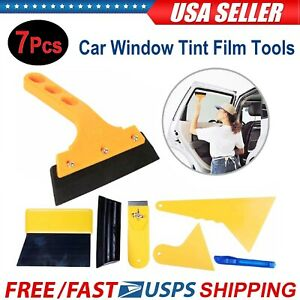 Durable Car Window Tint Tools Kit Film Tinting Scraper Application Installation