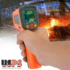 Laser Non contact Digital Infrared Thermometer K type 50 c 800 58 1472