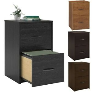 2 Drawer Filing Cabinet For Small Home Office Storage Organizer Furniture New