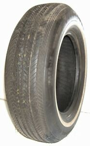 Used Takeoff Firestone Tire Fr78 15 Deluxe Champion Radial White Wall Fr7815